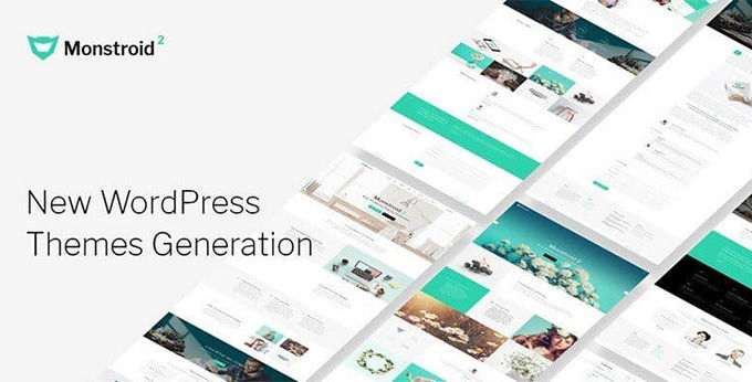 Monstroid-2 beste Wordpress Theme