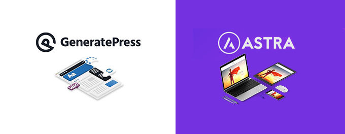 Astra vs Generatepress Vergleich