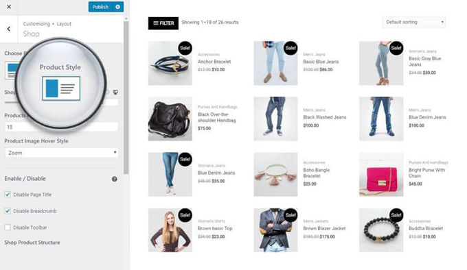 Astra Theme review - Woocommerce Integration