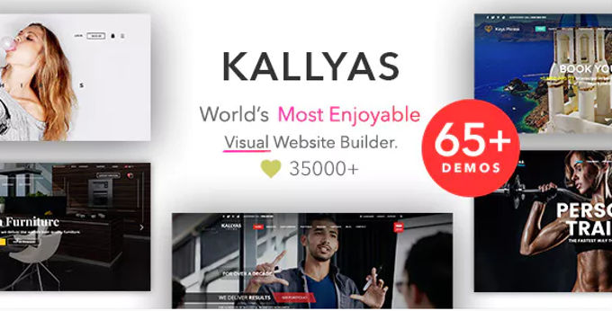 Kallyas beste Wordpress Theme