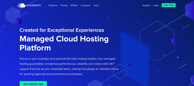 Cloudways - bestes managed Wordpress Hosting