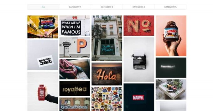 Divi Portfolio Layouts