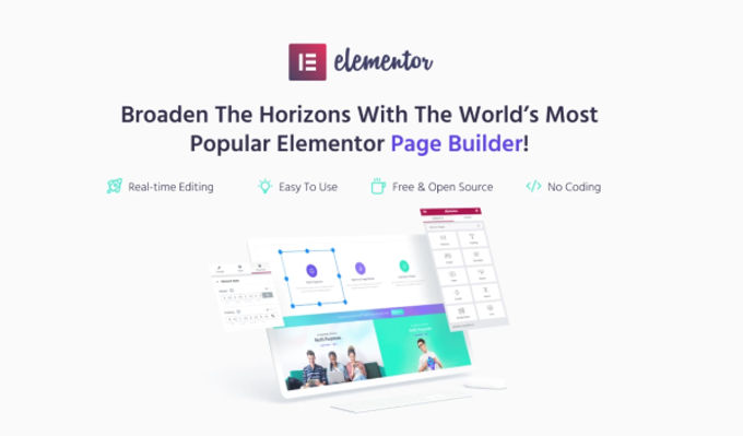Monstroid-2 mit Elementor pagebuilder