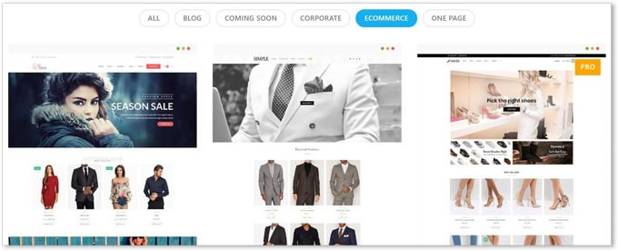 OceanWP Theme Woocommerce Demo designs