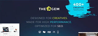 The Gem Thema Bewertung (Review) | Premium Wordpress Theme