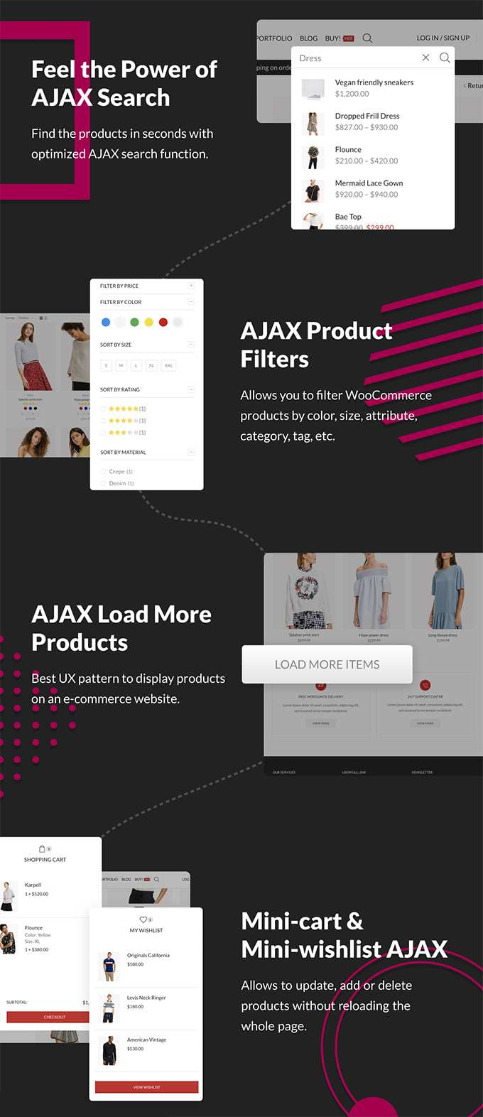 X-Store Theme Bewertung Woocommerce Ajax Features